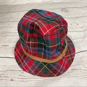 Coach Tartan Plaid Bucket Hat
